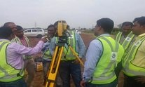 Windows based Manual Total Station survey in India